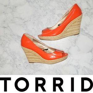 Torrid | Orange Wedges